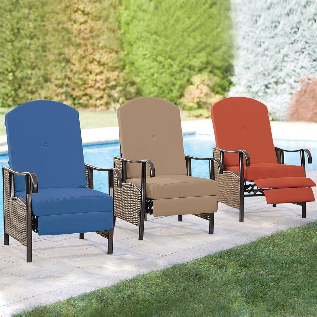 Patio Recliner Chairs Outdoor Recliners For The Patio Or Poolside