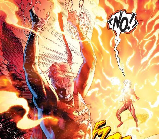 Comic panel of Batman/Superman #30 by Tom Taylor and Robson Rocha