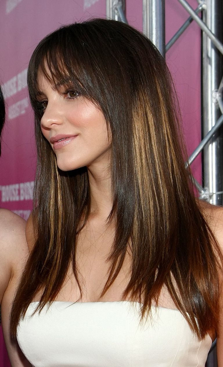 Hair color pictures should you dye your hair color hair color tip no 2 brunettes can get highlights too pmusecretfo Images