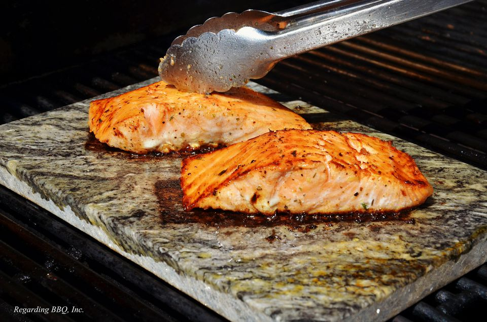 Grilled Salmon with Dill and Lemon