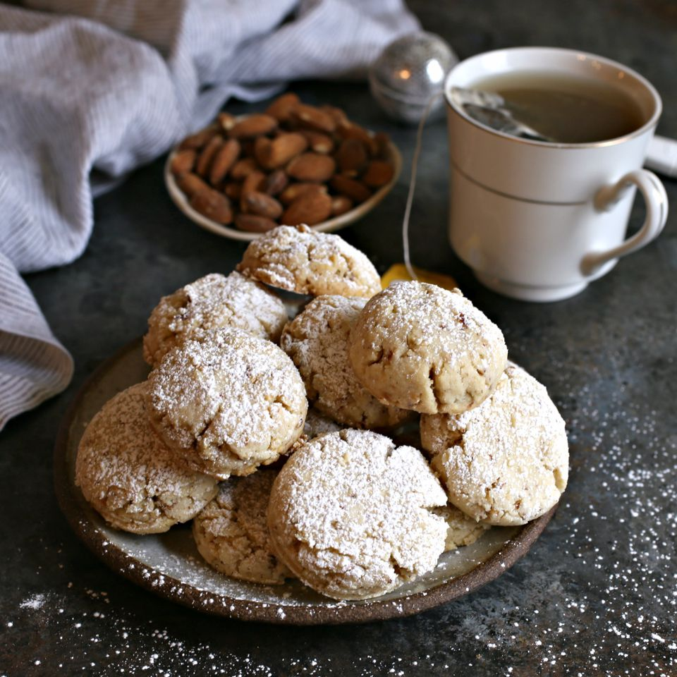 Ghoriba (Almond Butter Cookies)
