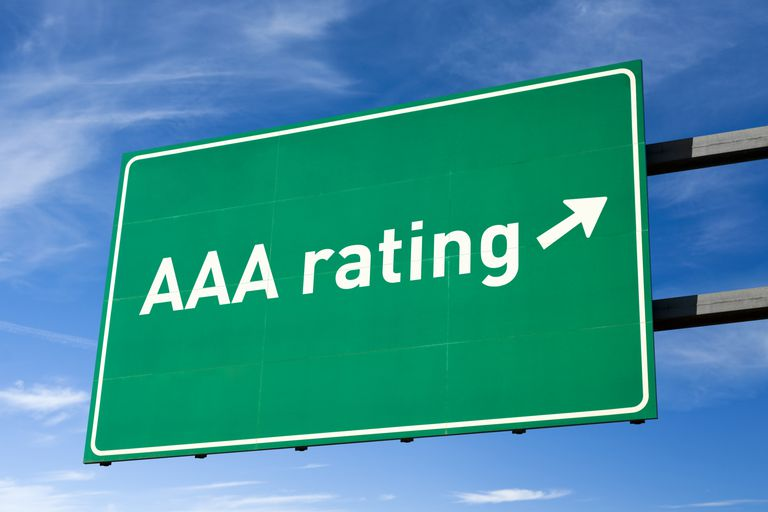 Triple A or AAA Rating for Bonds