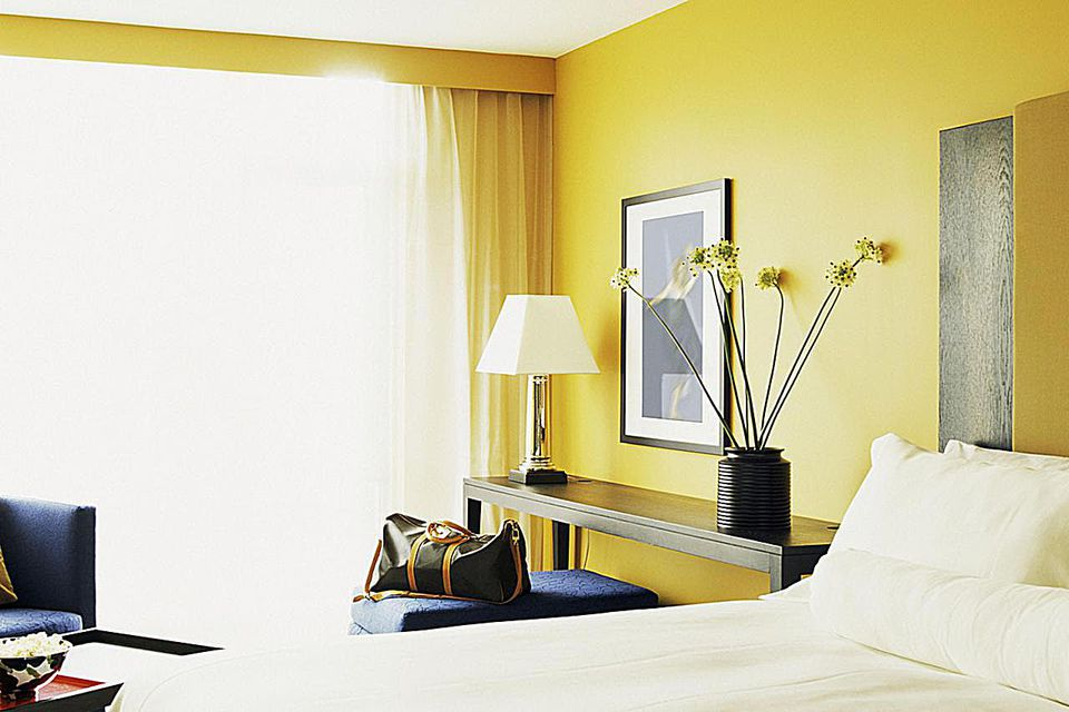 bedroom interior - Yellow Bedroom Ideas