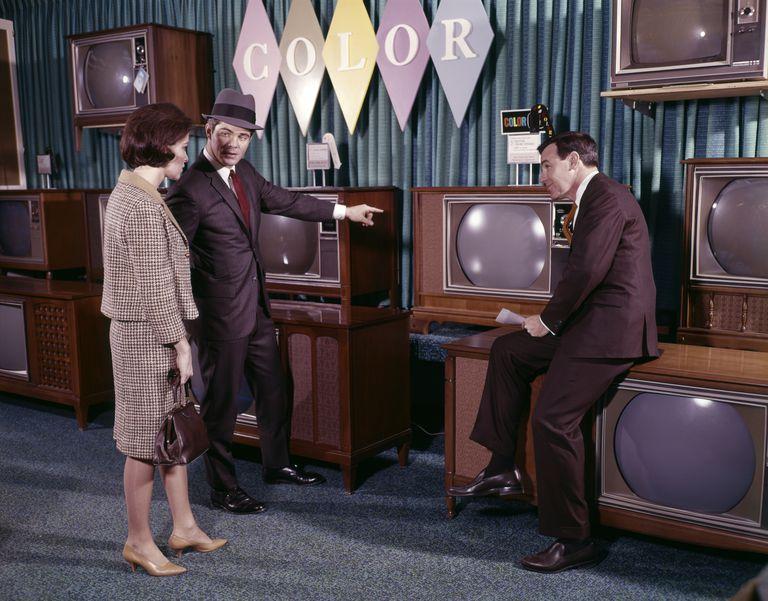 1960s COUPLE MAN WOMAN MEN...