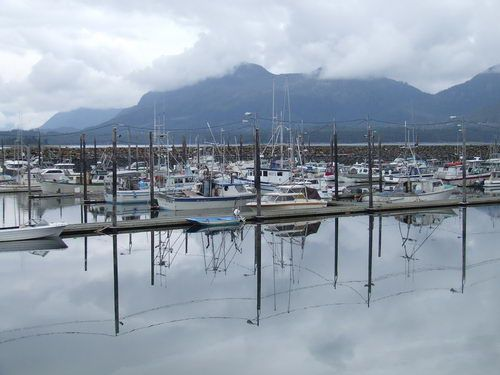 Metlakatla Harbor in Metlakatla, AK