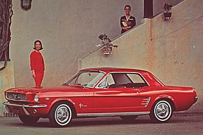 Pictures Of Mustangs Through The Years