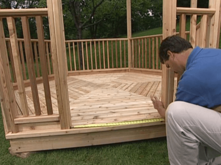 11 Free Wooden Gazebo Plans You Can Download Today