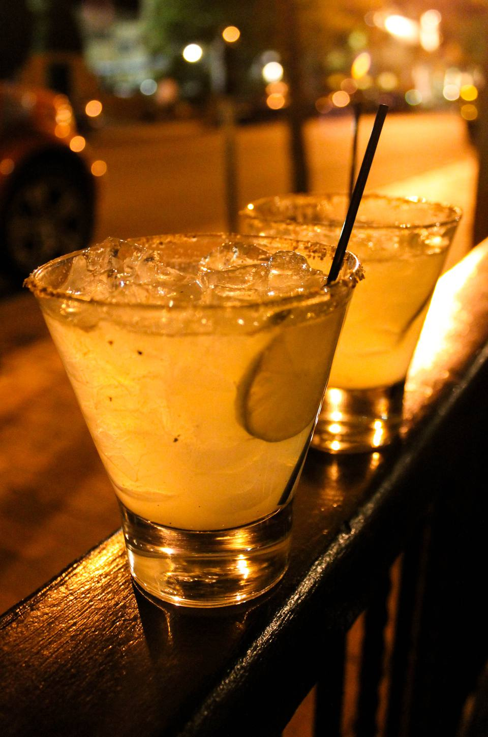 Smoked-sage margaritas at charming Secreto Lounge, in the historic St. Francis Hotel