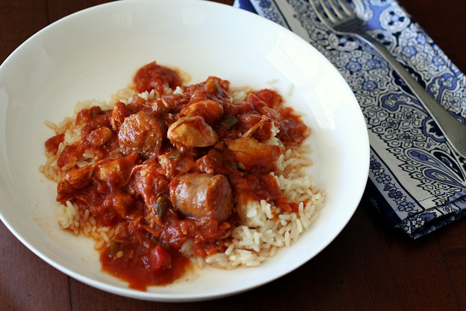 Creole Chicken With Sausage