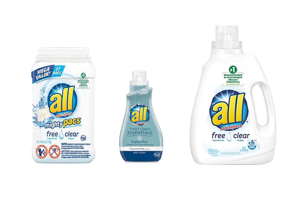 all detergents