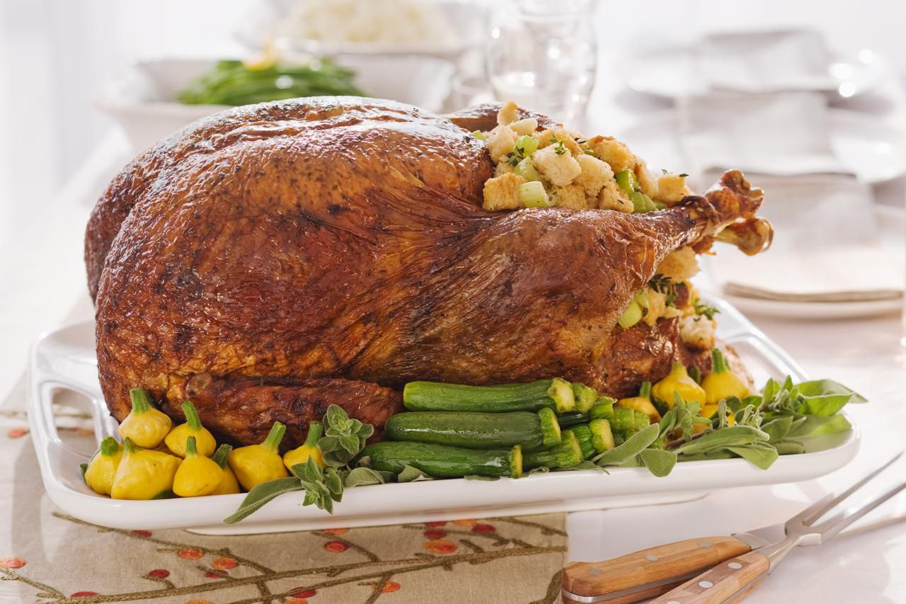 thanksgiving roast stuffed turkey recipe
