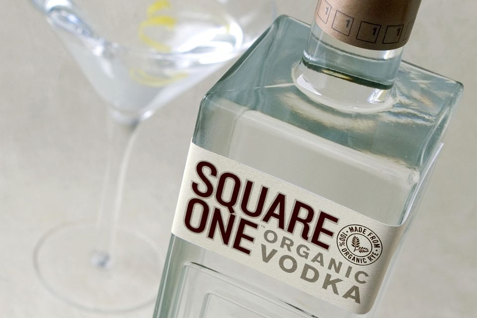 Square One Organic Vodka - Premium Crafted Rye Vodka Produced in the United States