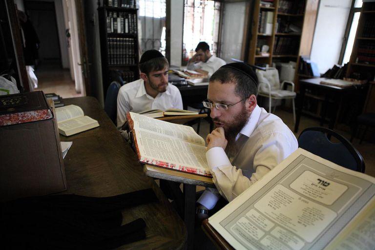 Scholars At Beth El Synagogue