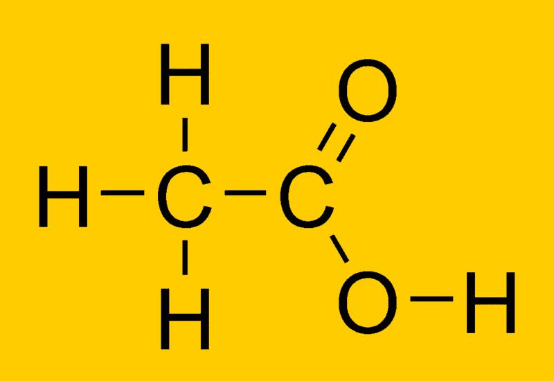 What Acid Is In Vinegar Vinegar Chemical Composition