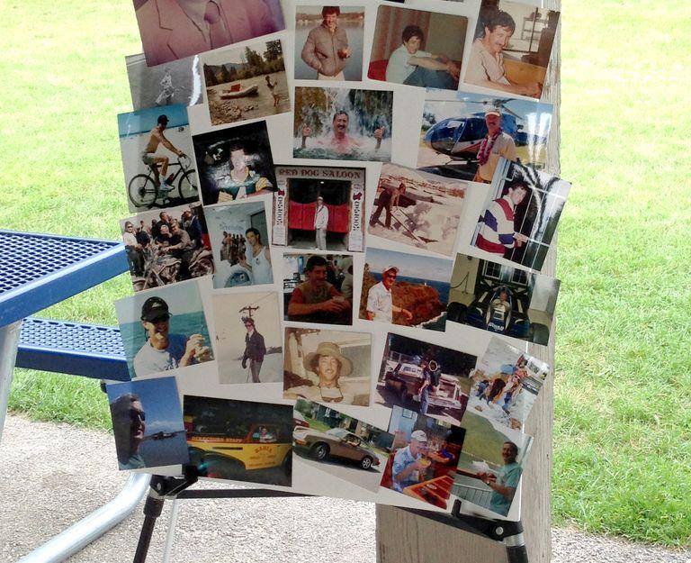 Funeral Memory Board