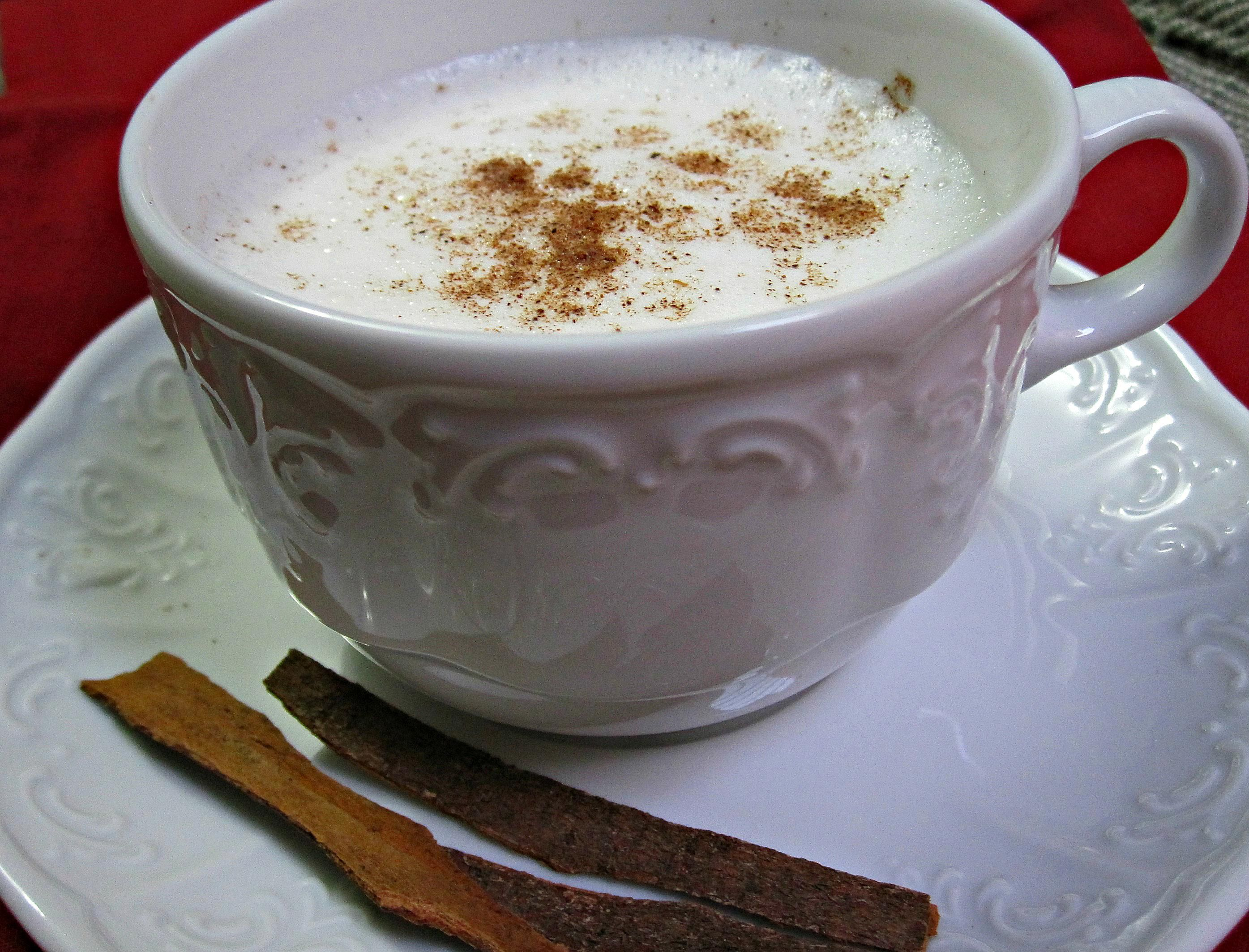 Hot Milk With Cinnamon Recipe