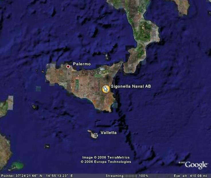 Installation Overview Naval Air Station Sigonella - Us air force bases in italy map