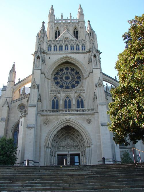 National Cathedral Front View