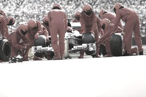 Indy Racing Pit Crew