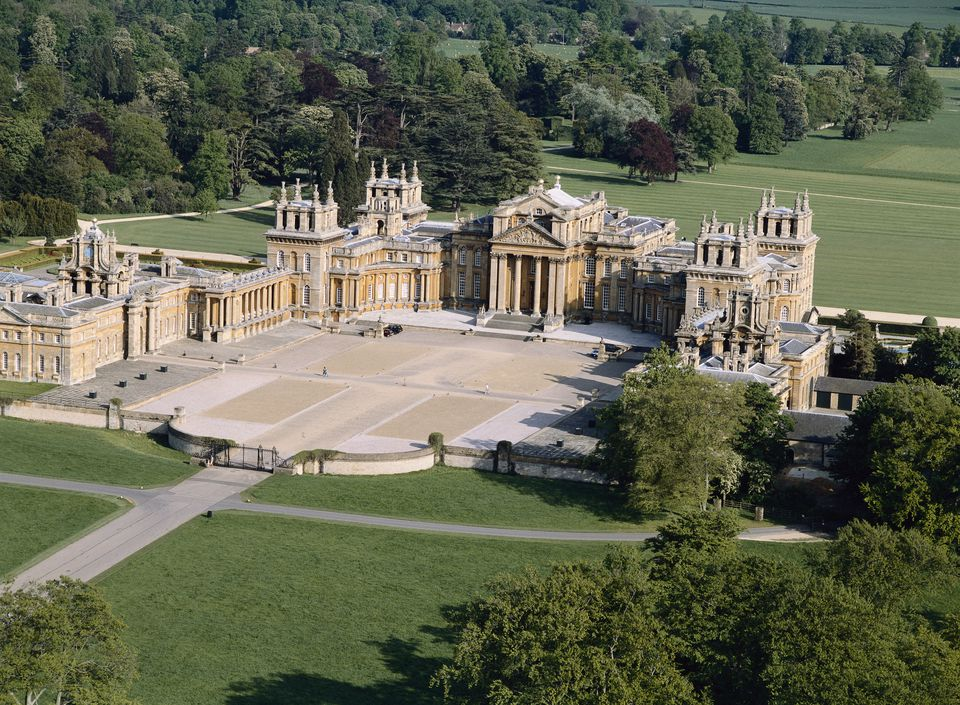 Take a blenheim palace tour in photos for Blenheim builders