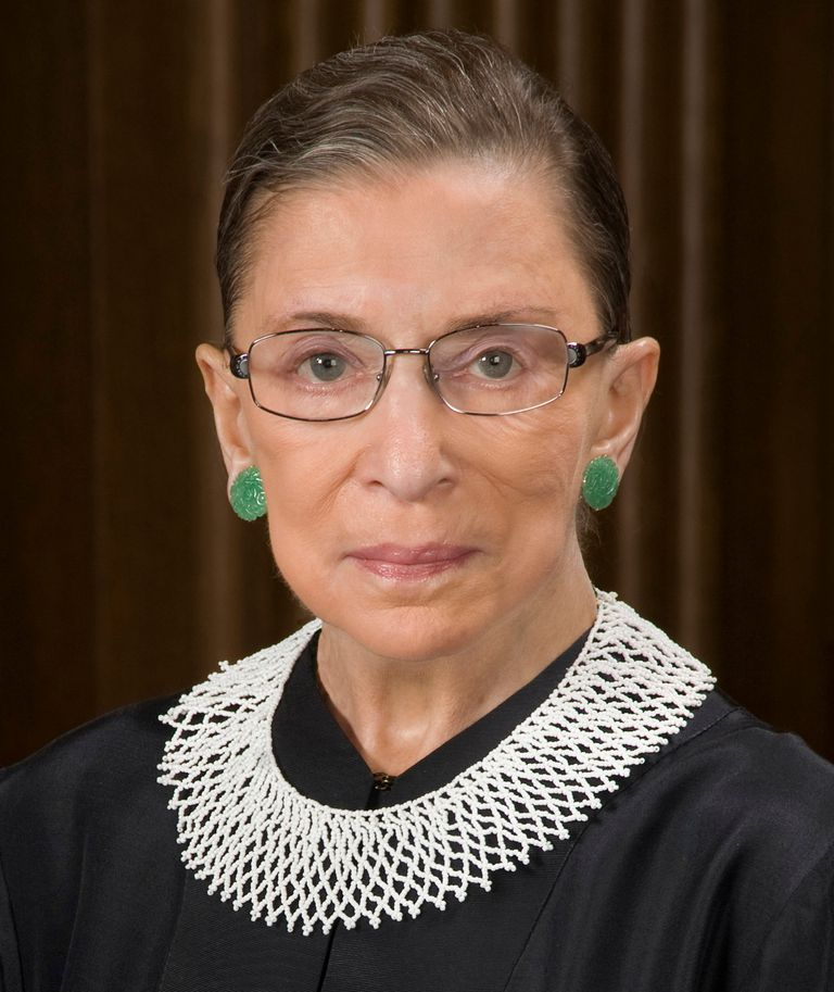 Official Supreme Court Portrait of Ruth Bader Ginsburg