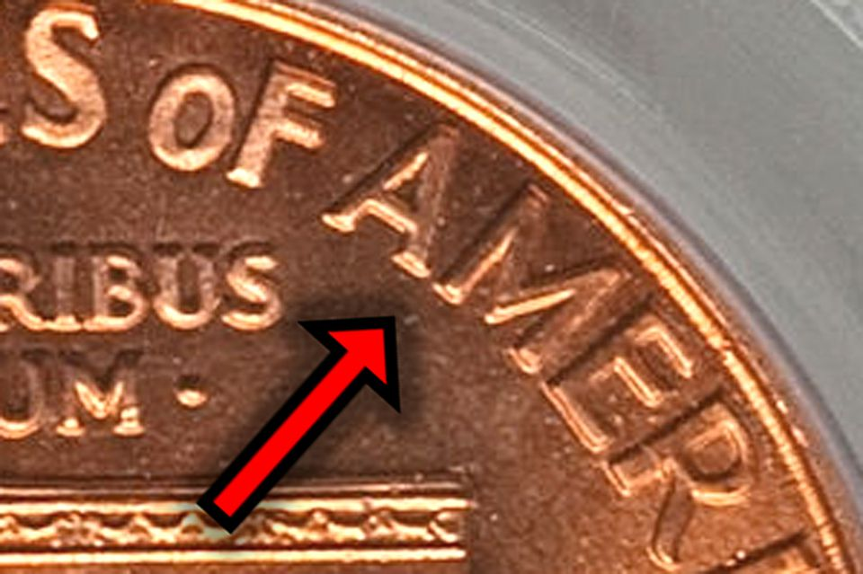 1999 Lincoln Cent Wide AM Reverse