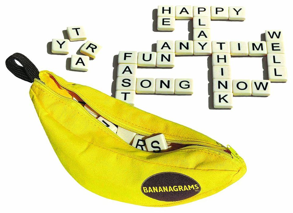 bananagrams word game for grandparents and grandchildren