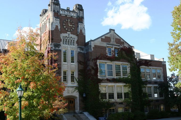 Sturges Hall and Tower at SUNY Geneseo