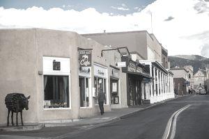San Francisco St, downtown Santa Fe