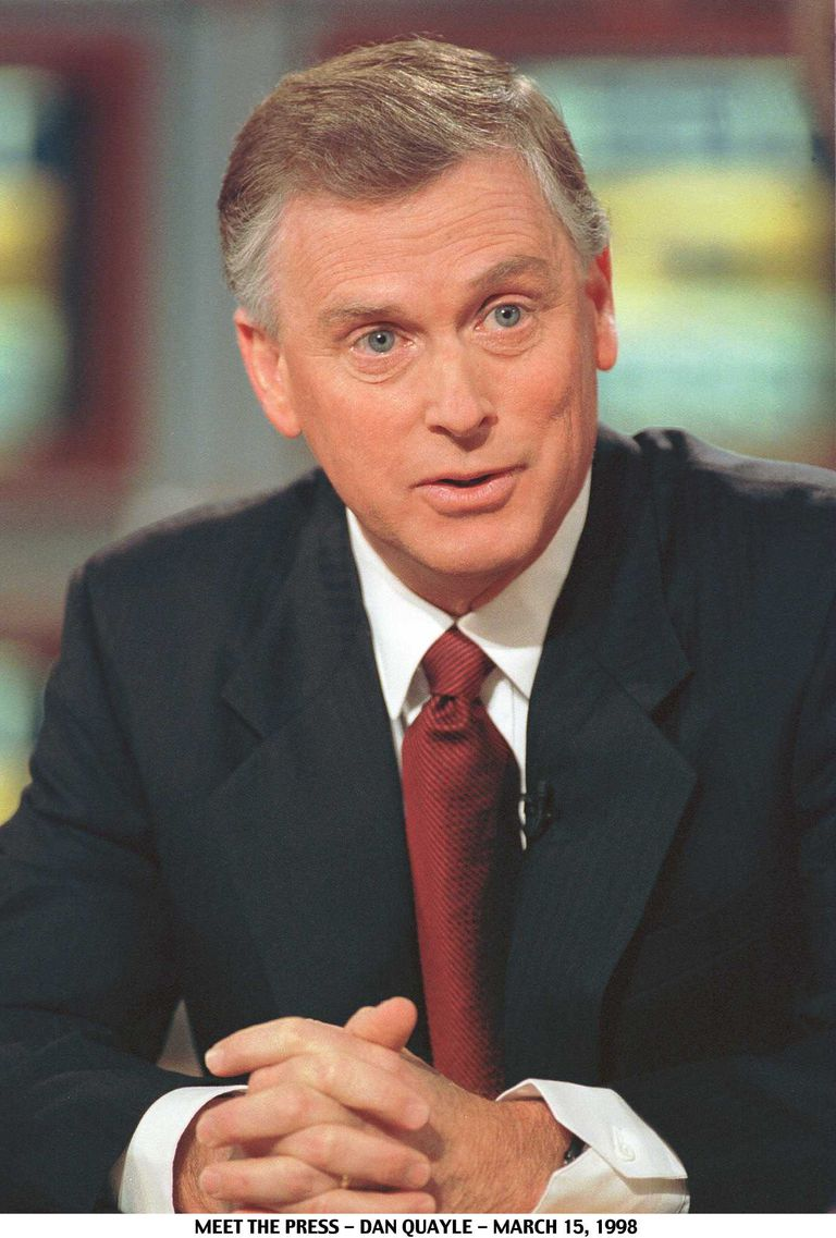 A picture of Former Vice President Dan Quayle