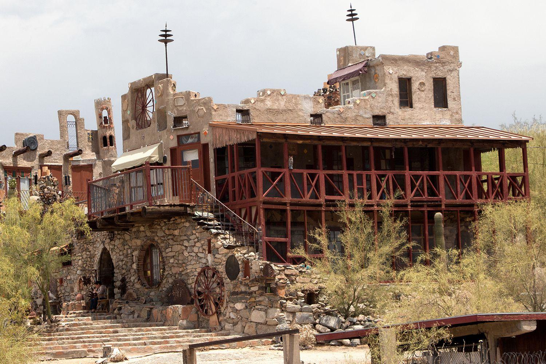 South Point Auto >> Mystery Castle in Phoenix, Arizona