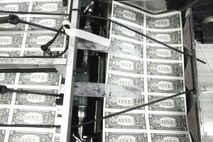federal reserve print money