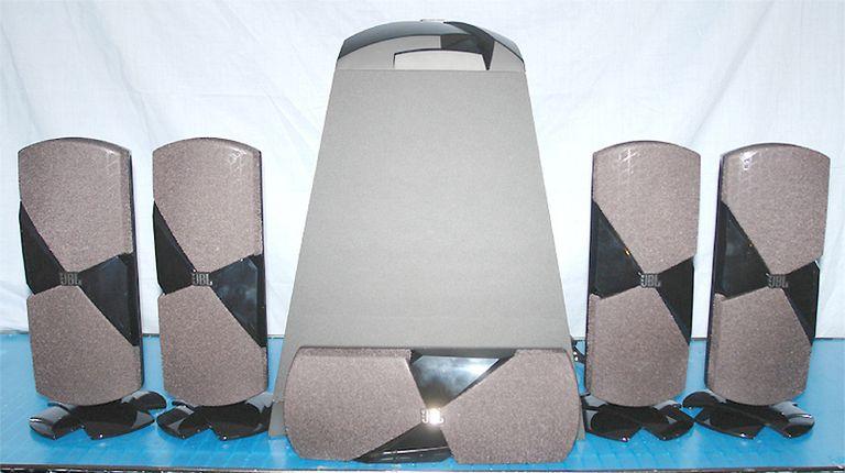 JBL Cinema 500 5.1 Channel Speaker System