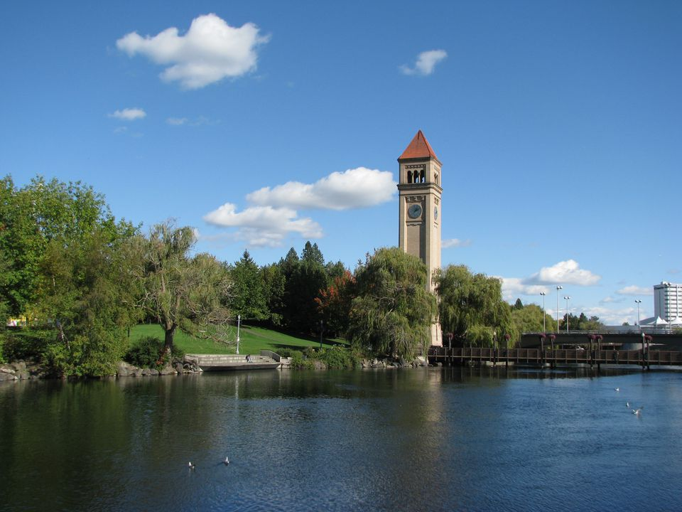 Spokane Riverfront.