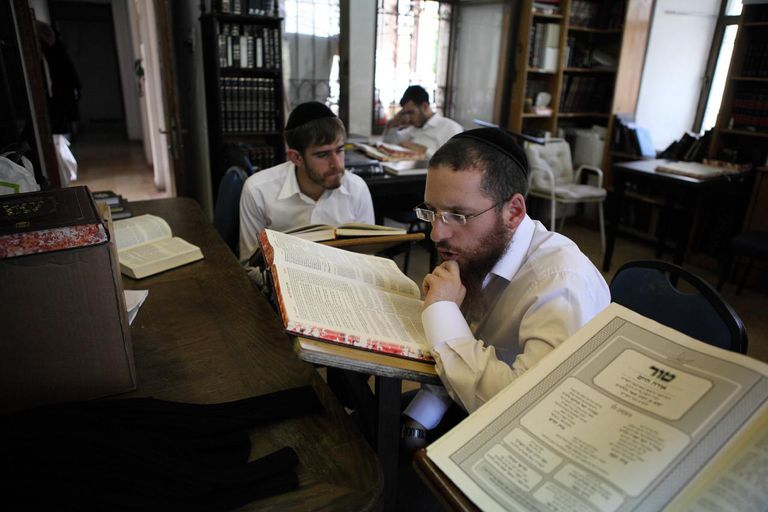 Scholars At Beth El Synagogue