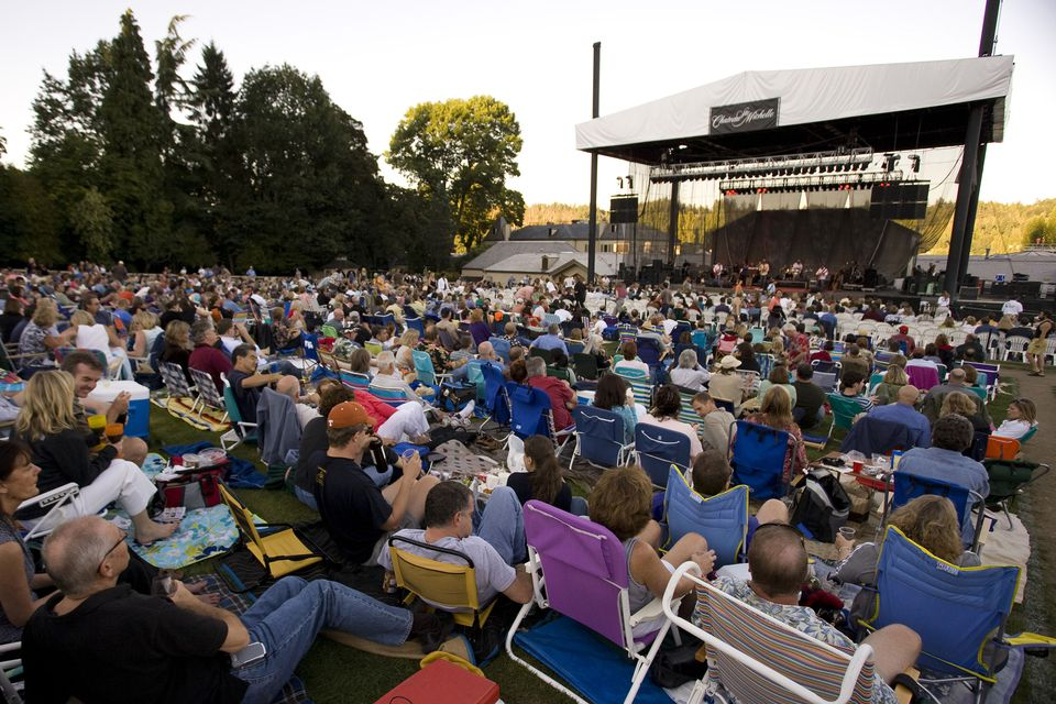 Summer Concert at Chateau Ste. Michelle in Woodinville, WA