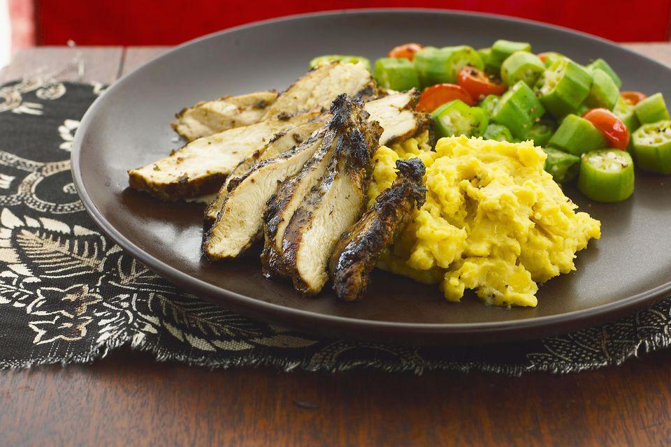 Jamaican jerk chicken