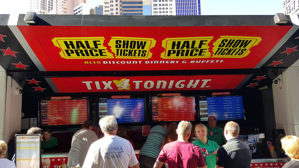 Half Priced Show Tickets in Las Vegas