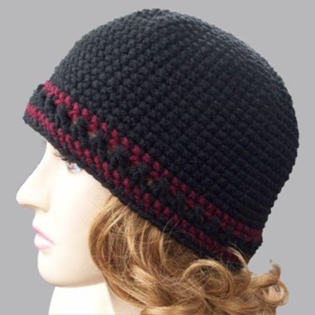 Single Crochet Beanie Free Pattern