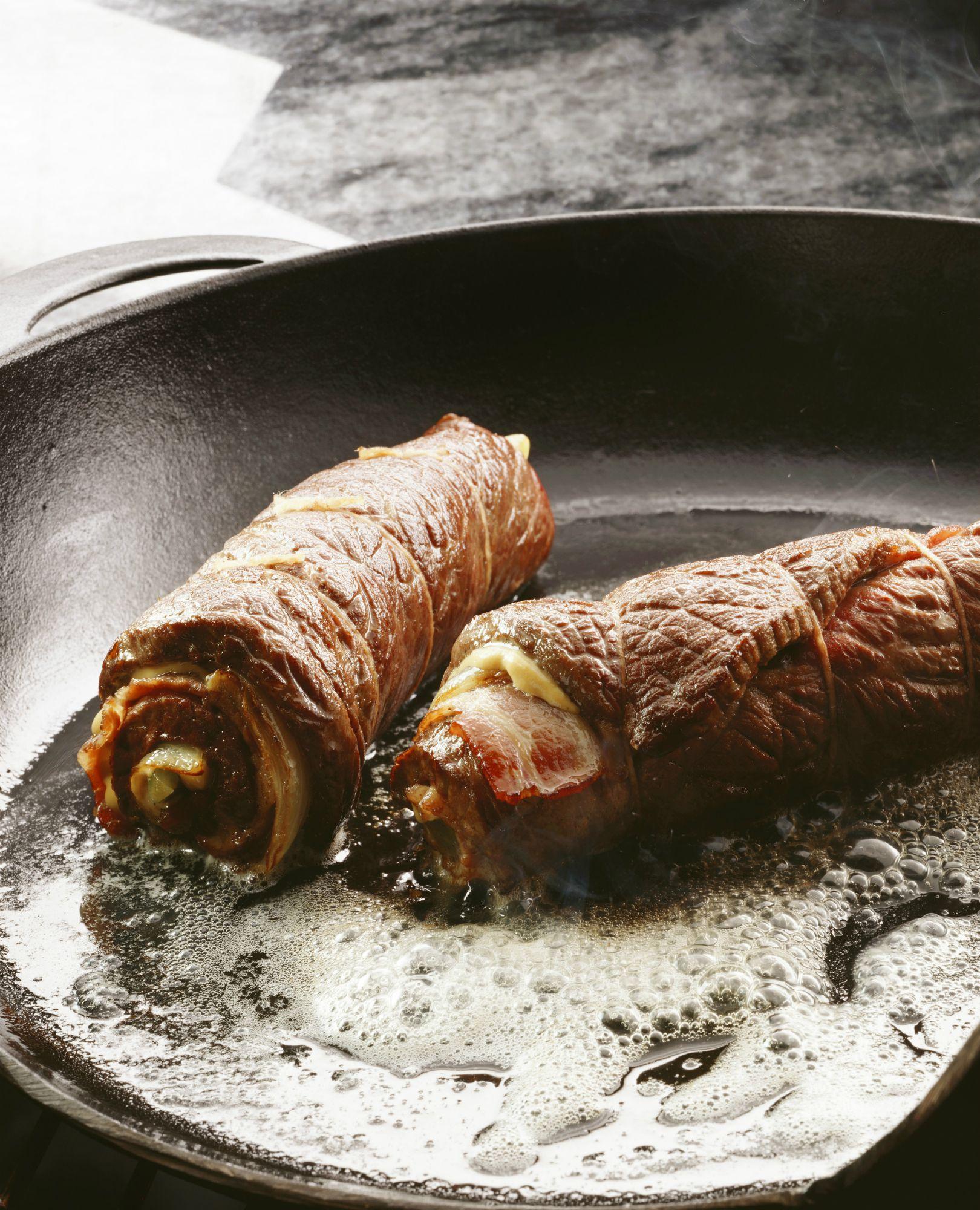 German Beef Roulade Rouladen Hausfrauenart Recipe