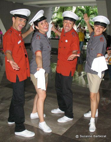Oasis Cancun Welcome Quartet