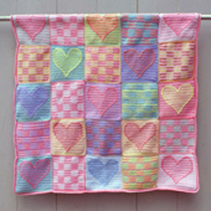 Free Patchwork and Block Design Crochet Quilt Patterns : crocheted quilts - Adamdwight.com