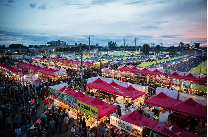 Summer Night Market Richmond