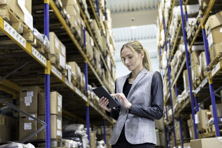 On-line processing orders from storage room