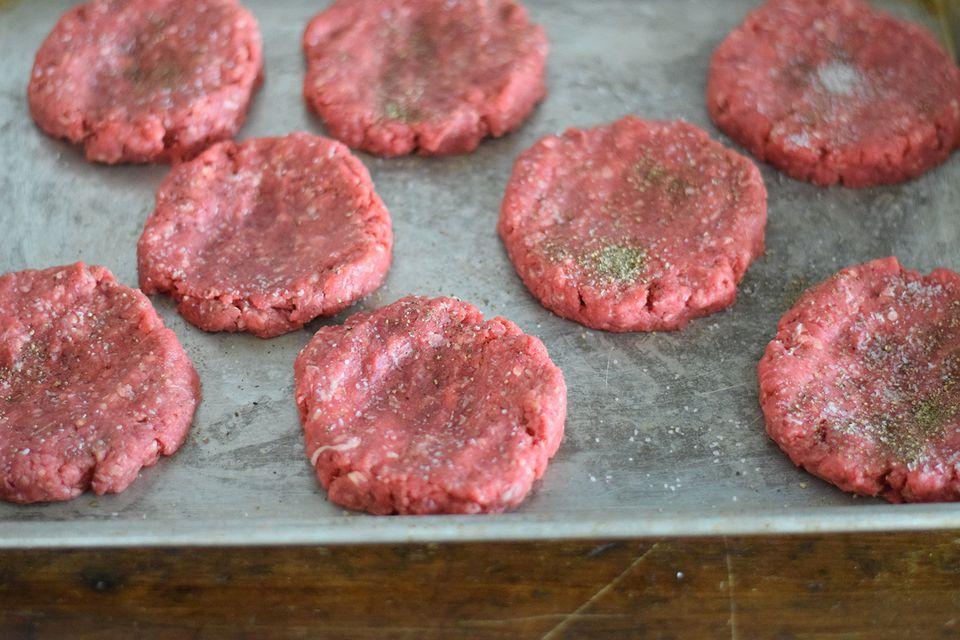 Making Hamburger Patties - The Perfect Patty