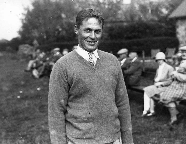 Golfer Bobby Jones, circa 1928