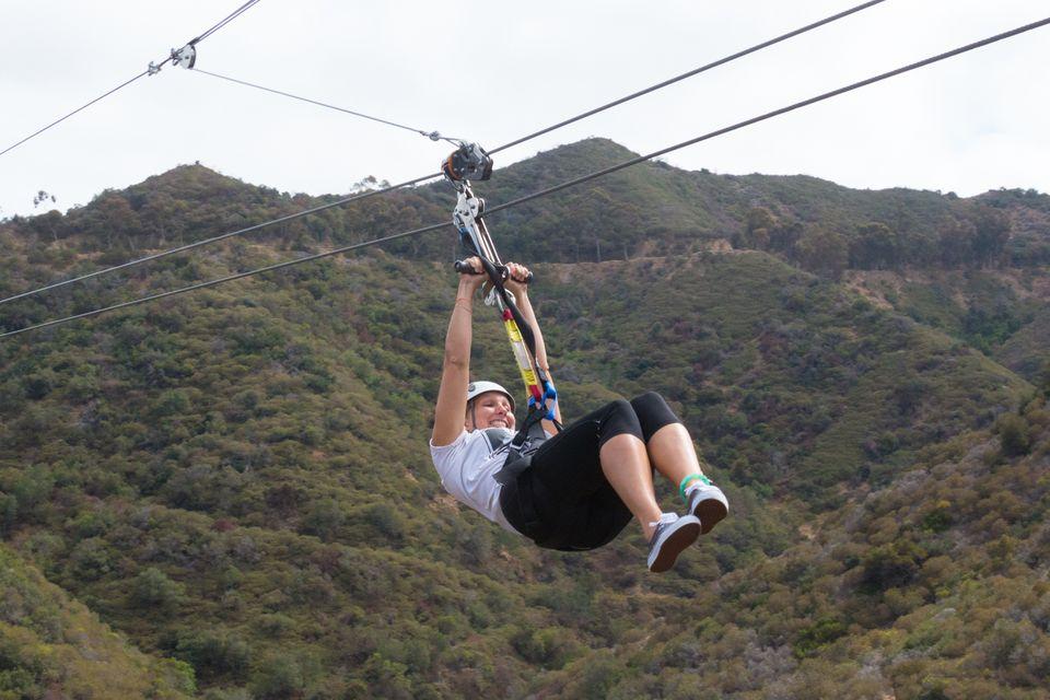 Zip Line Eco Tour on Catalina Island, CA