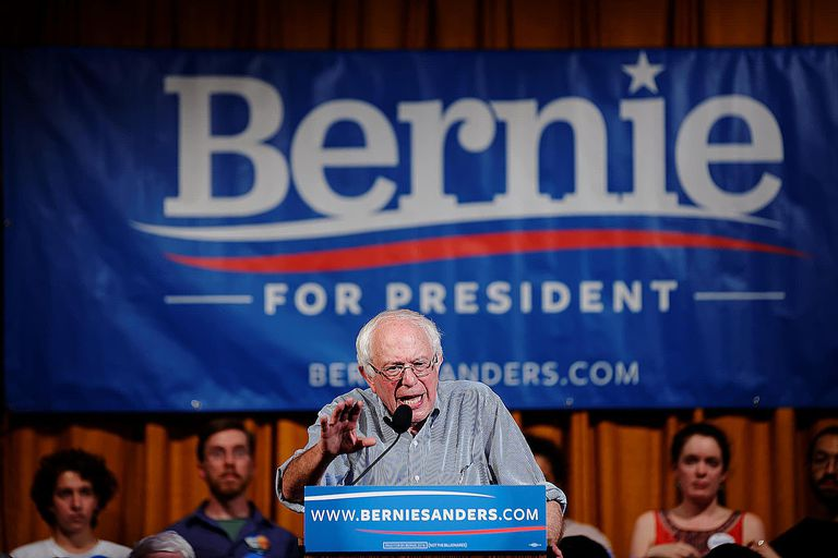 Bernie Sanders, contender for the Democratic nomination, is running on a platform of democratic socialism.