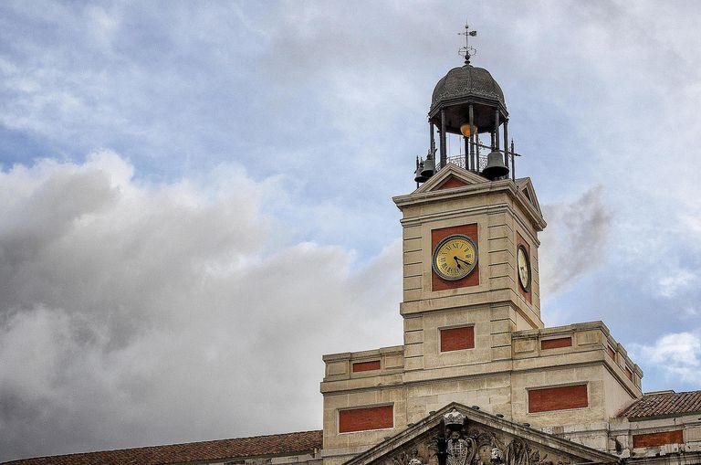 clock in Spain