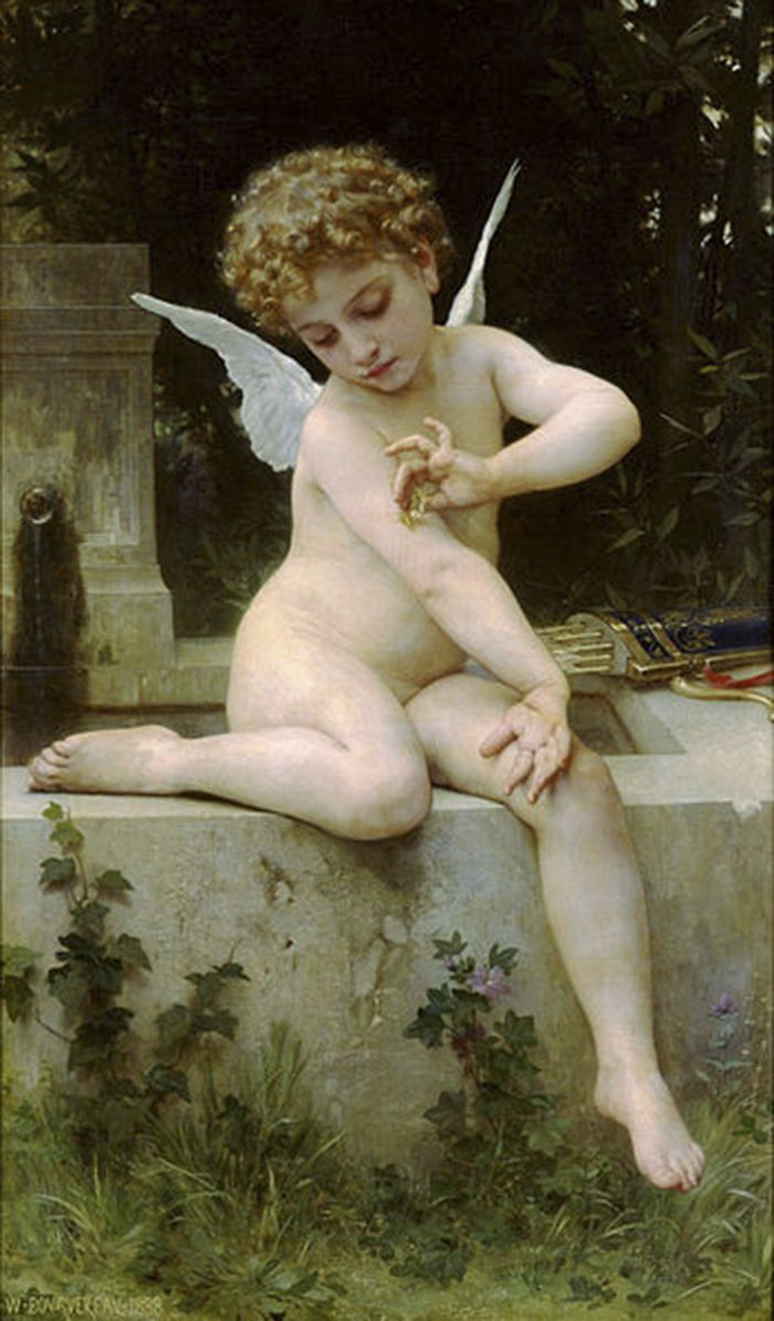 Cupido por William-Adolphe Bouguereau